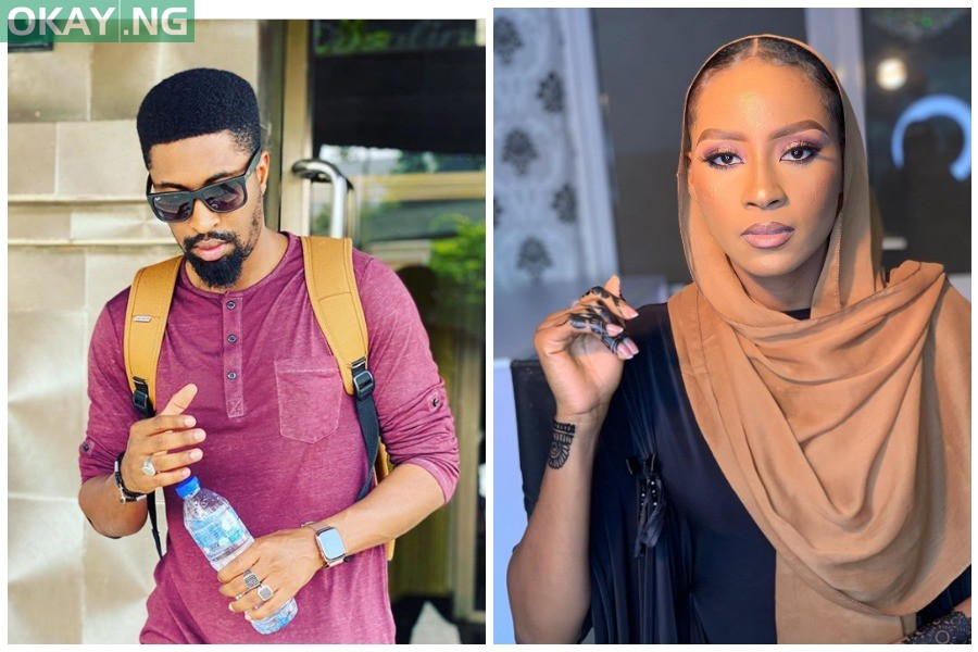 Nude Video: Deezell sues ex-lover Maryam Booth for N10